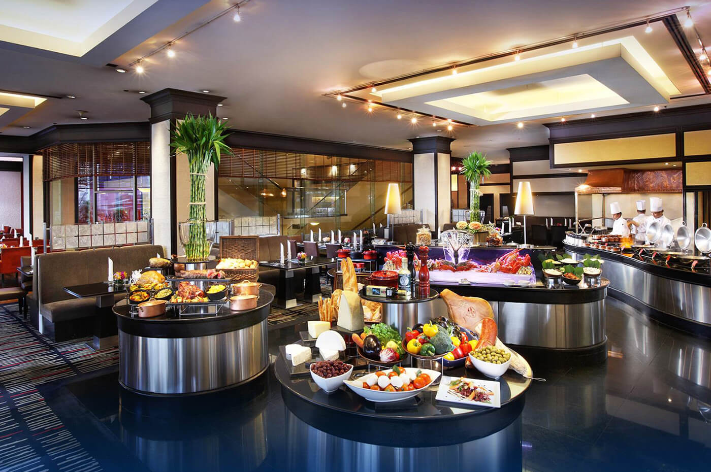 Atrium - INTERNATIONAL CUISINE IN A LIVE BUFFET THEATRE