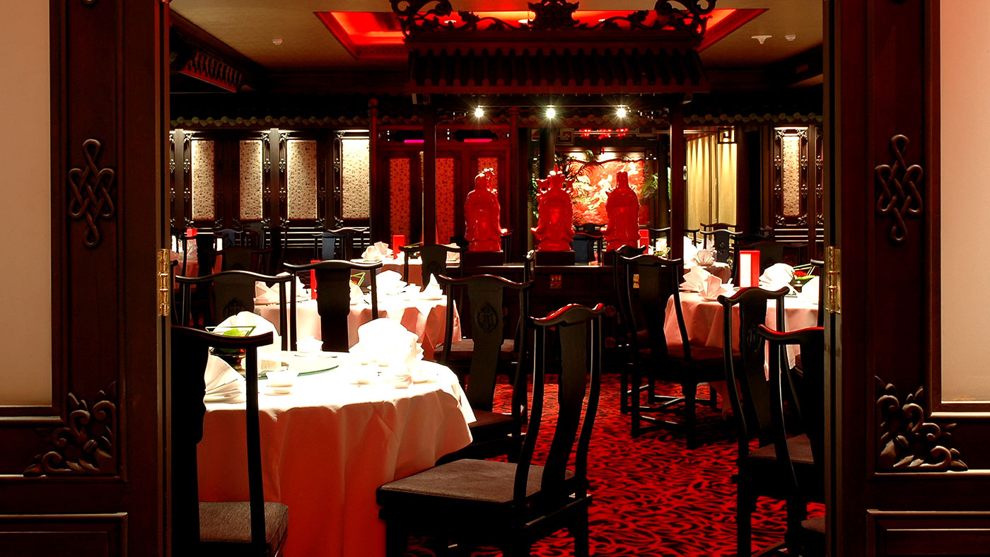 Chinese Restaurant Dining Room Design